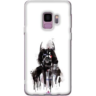 Snooky Printed 1096,star wars white Mobile Back Cover of Samsung Galaxy S9 Plus - Multi