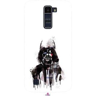 Snooky Printed 1096,star wars white Mobile Back Cover of LG K10 - Multi