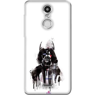Snooky Printed 1096,star wars white Mobile Back Cover of Swipe Elite Plus - Multi
