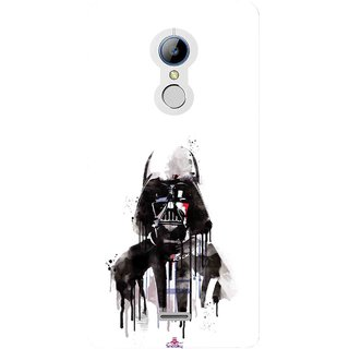 Snooky Printed 1096,star wars white Mobile Back Cover of LYF Water 7 - Multi