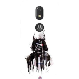 Snooky Printed 1096,star wars white Mobile Back Cover of Motorola Moto E3 - Multi