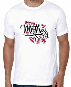 Crazy Sutra Half Sleeve Casual Printed  Mother's Day Special Unisex Boy's/Girl's/Men's/Women's Tshirt Funky Tshirts THappyMother'sDayS