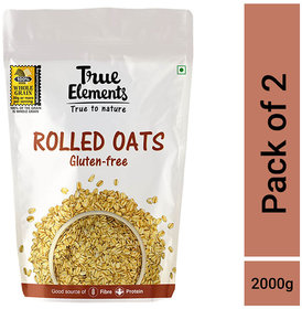 Rolled Oats,1kg (Pack of 2)