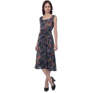 Yaadleen Georgette Multi Color Dresses