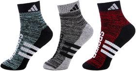 Adidas Unisex Ankle Socks - 3 Pair Pack