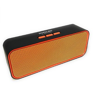 SONILEX BS-172FM BLUETOOTH SPEAKER SUPPORT FM BLUETOOTH AUX CABLE TF CARD USB CALLING TF CARD ( COLOR MAY VERY )