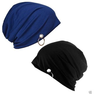 Buy Black Beanie Cap with Ring for Men and Women winter cap . Online - Get  40% Off 7be03f20de4