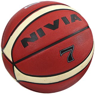 Nivia Engraver Rubberized Basketball Size-7