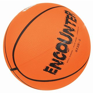 Nivia Encounter Rubberized Basketball Size-7