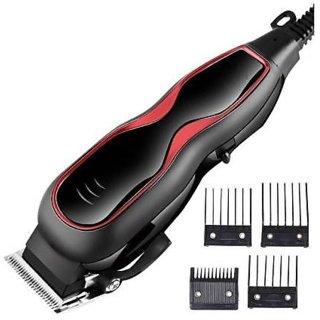 Hair Clipper - Corded Hair Clipper -Trimmer for Men-Hair Clipper and Trimmer-Professional Trimmer- Kemei KM 1027 (Black)