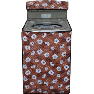 Dream Care Multicolor Printed Washing Machine Cover for Fully Automatic Top Loading LG T7208TDDLM 6.2 kg