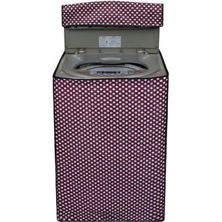 Dream Care Multicolor Printed Washing Machine Cover for Fully Automatic Top Loading 6kg to 6.5kg