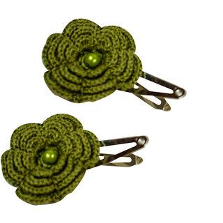 ChoosePick Crochet Handmade Hair Pin/Clip for Women/Girl (Pack of 20) C63