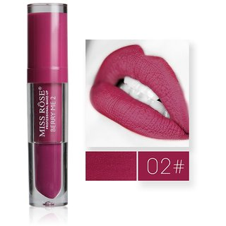 Miss Rose Liquid Lipstick Waterproof Long-Lasting Lips Nutritious Matte Lip Gloss