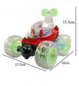 Remote Control Rechargeable Kids Playing Indoor Stunt Carb