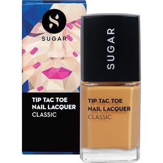 SUGAR Tip Tac Toe Nail Lacquer - 071 Mustard Memory (Mustard Yellow)