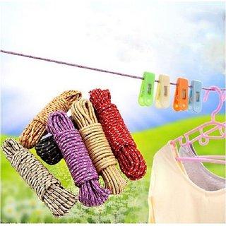 kudos 20m Drying Clothes  Multipurpose Use Nylon Outdoor Laundry Clothesline Rope (Rassi)