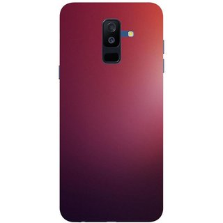 Back Cover For Samsung Galaxy A6 Plus (Multicolor, Dual Protection, Flexible Case) by Rising Rays