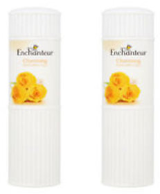 Imported Enchanteur Charming Perfumed Talc-125 GM - Pack of 2 (Made in Malaysia)
