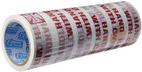 Self Adhesive Tape -48mm-130 metres-(HANDLE WITH CARE)--Pack of 6