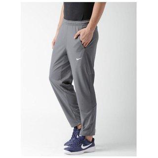 Nike Grey Polyester Lycra Track pant