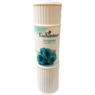 Imported Enchanteur Gorgeous Perfumed Talc-125 GM - Pack of 2 (Made in Malaysia)