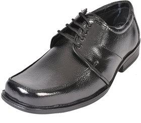 Altitude Men's Black Leather Formal Lace Up Shoes