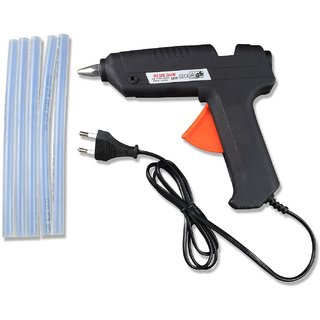 40 Watt brand New Black Color Hot Melt Glue Gun with Glue Sticks