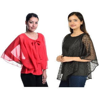 Buy Timbre Women Stylish Party Wear Tops Combo Pack Of 2 Online 699 From Shopclues