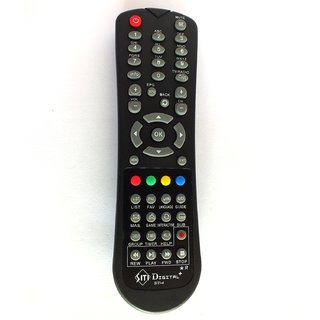 Siti Digital Remote Control- For HD STB- With Recording Function