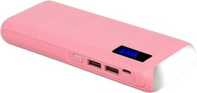 Omnitex tlwp with 2 usb ports 15000 MaH Power Bank (pink)