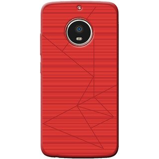 Professional Strip Back Cover For G5S - Red