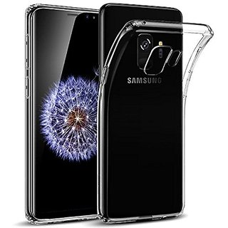 Samsung Galaxy A6  Exclusive Soft Silicone TPU Jelly Crystal Clear Cover Case