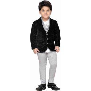AJ Dezines Kids Coat Suit Set For Baby Boys
