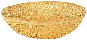 Bamboo Round Basket  (10 Pcs Set)