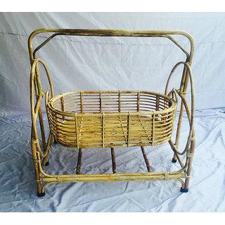 Handmade Cane Baby Swing Cradle ( Palna )