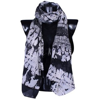 Bfly Women's Printed Poly Cotton Stole