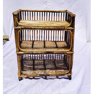 Cane Rack Books amp Shoes  All India HandiCraft