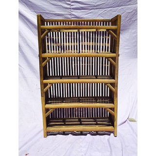 Bamboo Rack Books amp Shoes  All India HandiCraft