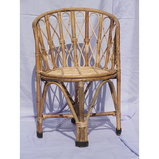 Cane Chair with Cushion