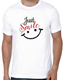 Crazy Sutra Half Sleeve Casual Printed Unisex Boy's/Girl's/Men's/Women's White Premium Dry-Fit Polyester Tshirt TJustSmileSM