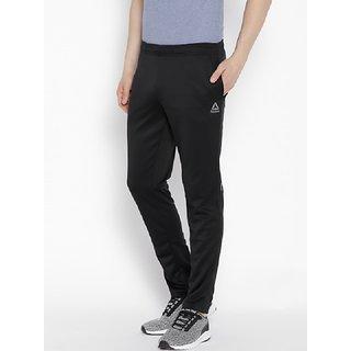 Reebok Black Polyester Trackpants for Men