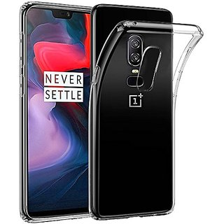 OnePlus 6 Exclusive Soft Silicone TPU Jelly Crystal Clear Cover Case 1+6