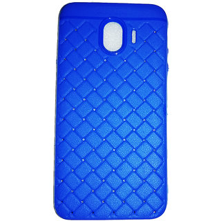 save off 2057e f8dcf Macsoon Fast Focus Blue Back Cover For Galaxy J4 2018