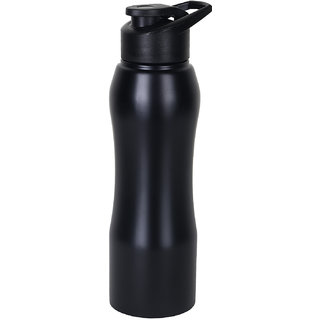 Home Story Stainless Steel Water Bottle 750 ml Gym Sipper Black Color - BPA Free  Food Grade Quality