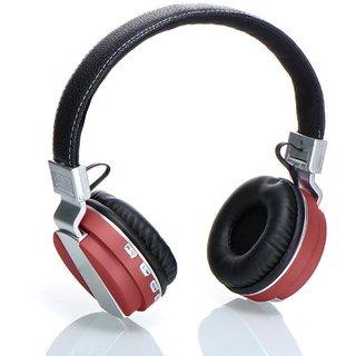 Laploma Hertz Wireless Bluetooth Headsets With Mic Bluetooth Headphones high bass sound-Multicolor