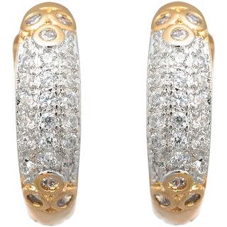 52c5ef1ad3498 BeBold Piercing Gold Micro AD Slim Fashion Bali Stud Earrings for Men Boys