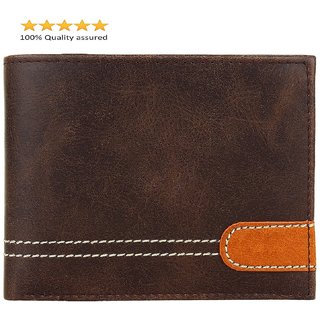 Fastrace Insta Brown PLP Men's Wallet (Synthetic leather/Rexine)