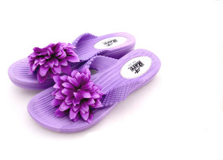 Czar Flip Flops Slipper for Women RO-06 Purple
