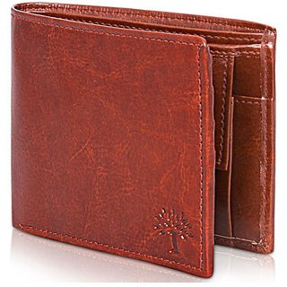 Fastrace Insta Brown PU Men's Wallet (Synthetic leather/Rexine)